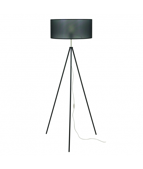 "Luzeva - ""LR Treppy-noire"" Floor Lamp"