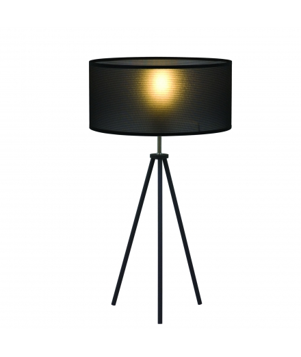 "Luzeva - ""LP Treppy-noir"" Table Lamp"