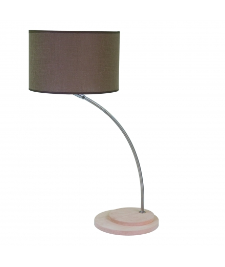 "Luzeva - ""LP Beebop-marron"" Table Lamp"