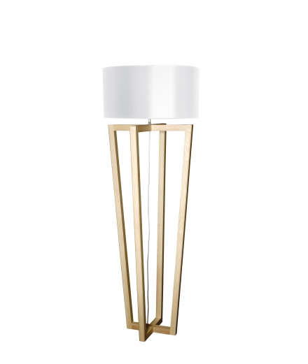 "Flam & Luce - ""Oak"" Floor Lamp"