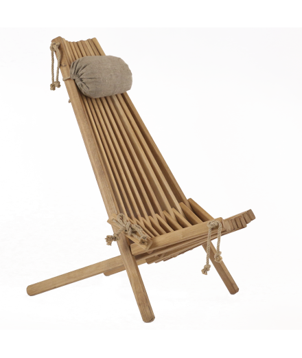 "Sedia ""Eco chair - Oak oiled"""