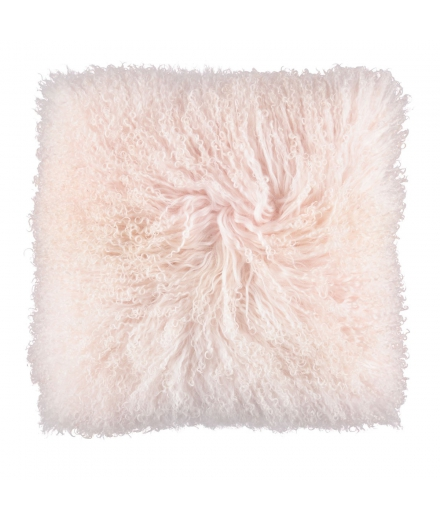 NC - Tibetian Sheepskin Cushion (one sided): Candy