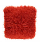 NC - Tibetian Sheepskin Cushion (one sided): Fiesta